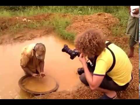 Добыча драгоценных камней Шри Ланка (Видео Турист)