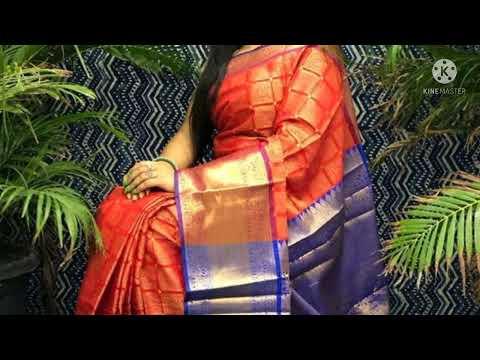 Women's party were silk Saree