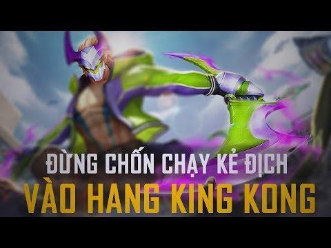 Đừng giống Msuong chốn chạy kẻ địch vào hang KingKong núp và cái kết !!!