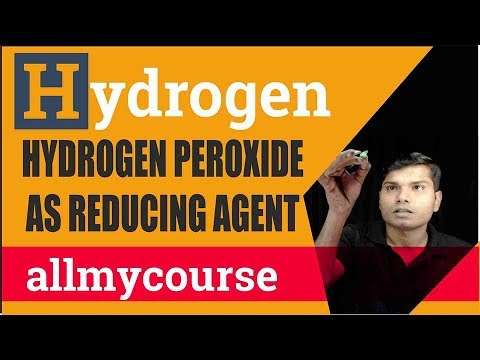 34  Hydrogen Peroxide as Reducing Agent