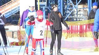 Лыжные гонки на Мельничной