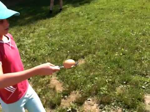 Eierlauf Spiel