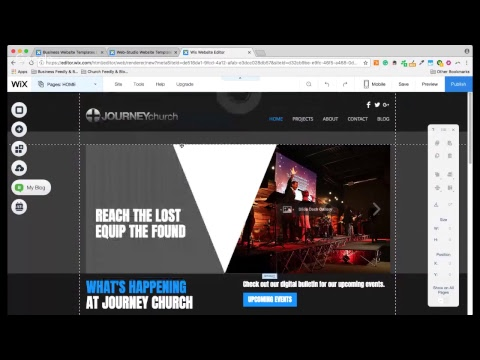 Free Church Website Builder And Hosting With Cheap Upgrade Options Youtube