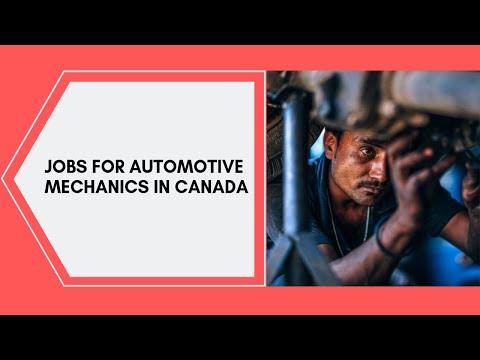 Automotive Mechanic  Jobs In Canada