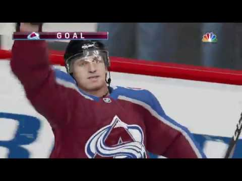 NHL 19 - Minnesota Wild Vs Colorado Avalanche Gameplay - NHL Season Match Oct 4, 2018