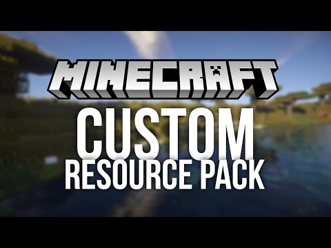 How to Make a Custom Resource Pack for Minecraft (Custom Texture Pack)