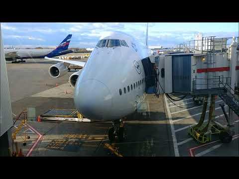 Lufthansa LH 401 747-8I JFK-FRA Trip Report