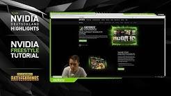 Tutorial: GeForce Experience und NVIDIA Freestyle