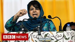 Kashmir leaders under house arrest as unrest grows - BBC News