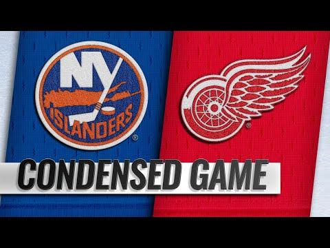 12/08/18 Condensed Game: Islanders @ Red Wings