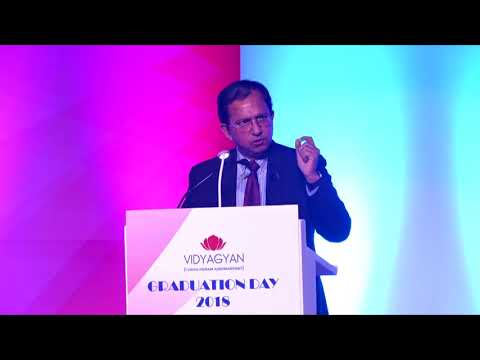 Mr. Suresh Narayanan, Chairman and Managing Director of Nestle India | VidyaGyan Graduation Day 2018