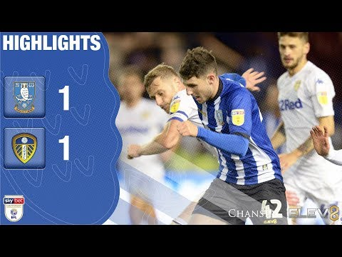 Sheffield Wednesday 1 Leeds United 1 | Extended highlights | 2018/19