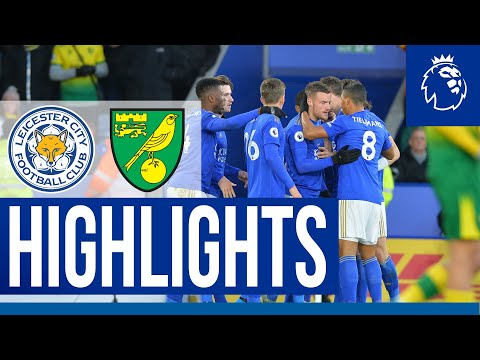 All The Action From The Foxes' Premier League Draw | Leicester City 1 Norwich City 1