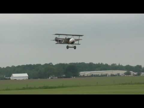 Chuck Hamiltons DR-1 first flight