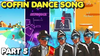 Coffin Dance Song (Astronomia) but it's played on 4 different Android/iOS Games (Part 5)