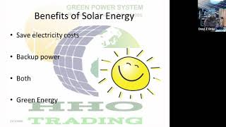 Day1 Lecture 1 Solar Online Class