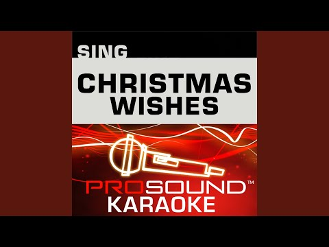 The Christmas Shoes (Karaoke Instrumental Track) (In the Style of Newsong)