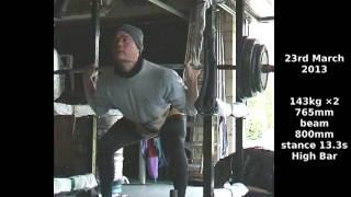 168 kg - levantamiento de pesas - el entrenamiento  -