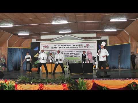 CC Stomp Battle 2017 - Kolej Komuniti Beaufort - The Chefs