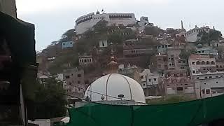taragarh fort from ajmer sharif dargah