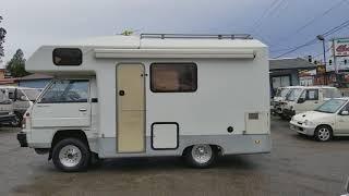 1992 Mitsubishi Delica Truck motorhome JB500, 4WD diesel, 33,000ml
