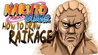 How to draw The raikage! by davide ruvolo speedpainter!