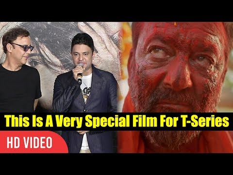 This Is a Very Special Film For T-series | Bhushan Kumar About Sanjay Dutt | Bhoomi Trailer Launch