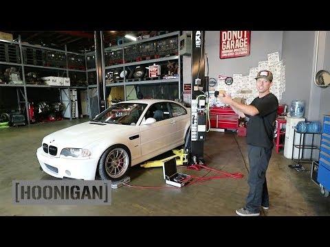 [HOONIGAN] DT 047: Corner Balancing Vin's BMW E46 M3