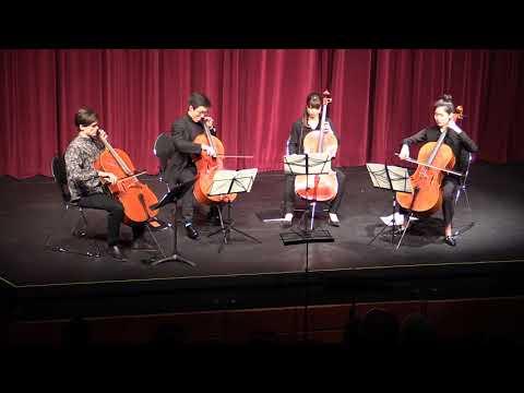 Holes in the Floor   Crosmer - Suite #2 for Cello Quartet   Mellon Music Festival   Davis, CA