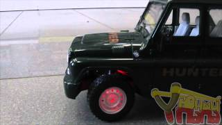 Обзор радиоуправляемой машины JOY TOY УАЗ 9126-3 с зарядным устройством 1:16