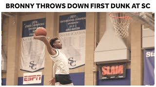 Bronny James Throws Down First Dunk at Sierra Canyon! - Full Highlights