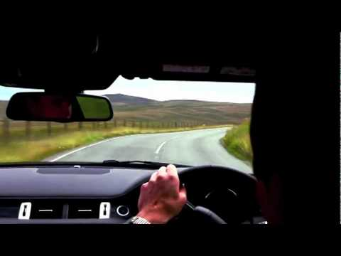 Range Rover Evoque handling and suspension testing