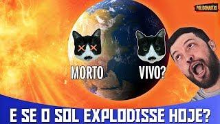 Se o Sol Explodisse HOJE, Quem Ficar no Lado Noturno da Terra Pode Sobreviver? | AstroPocket