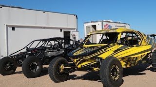 Testing a 1200hp Funco Sand Car in Glamis - October 2019