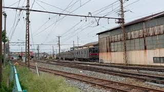 長野電鉄 長野線 8500系T5編成 須坂止まり