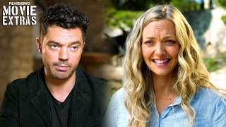 "MAMMA MIA! HERE WE GO AGAIN | On-set visit with Amanda Seyfried ""Sophie"" & Dominic Cooper ""Sky"""