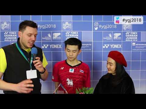 GJTV2018 // Siegerinterview MS //  Kunlavut Vitidsarn (THA)