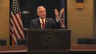 After Collapse, Gov. Dayton Reveals He Has Prostate Cancer - Full Q & A