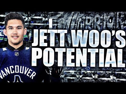 The Potential Of Jett Woo - Vancouver Canucks Prospects / Moose Jaw Warriors WHL Scouting Report