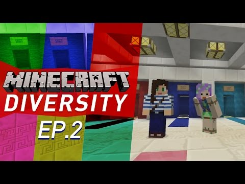 STARTING OVER! - Minecraft Diversity w/ Stacy Ep2