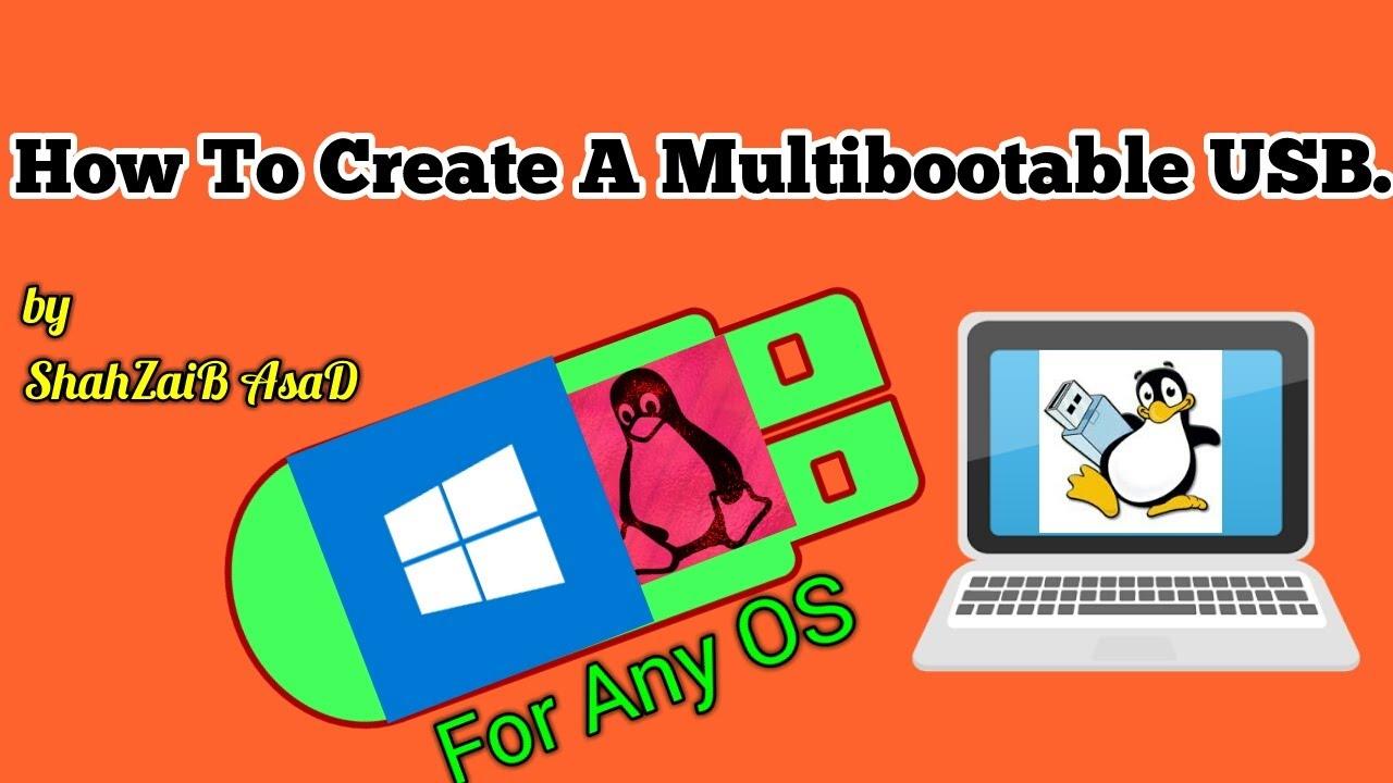 how to create multi bootable usb