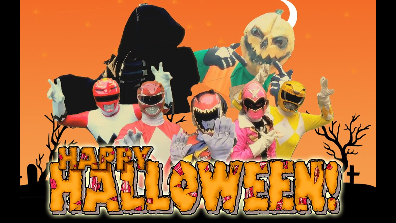 Halloween Power Rangers