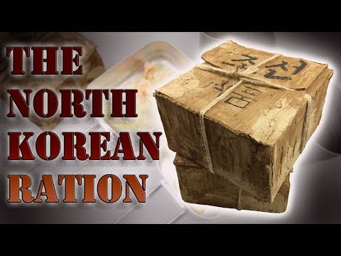 MUST SEE!!! NORTH KOREAN RATION, SINGLE MEAL PACK || DPRK (April Fools)