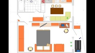 План дома в программе Splan