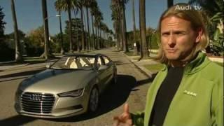 New Audi A7 Sportback Concept Car 2010
