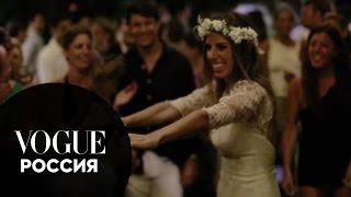 Свадьбы Vogue. Идеальная свадьба в семейном кругу