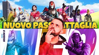 Season 9 arrives in Fortnite, We See the New Battle Pass