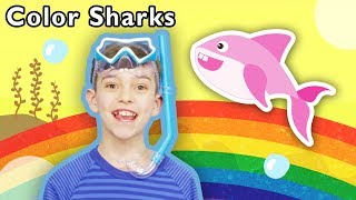 Color Sharks + More | Mother Goose Club Dress Up Theater