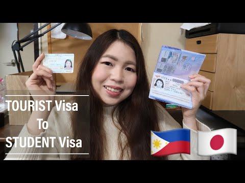 Japan Tourist Visa to Student Visa for Filipinos [Tagalog/English]