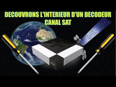 DECOUVRONS L'INTERIEUR D'UN DECODEUR CANAL SAT